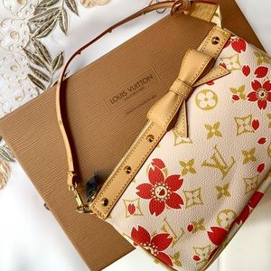 Louis Vuitton RARE Cherry Blossom Pochette